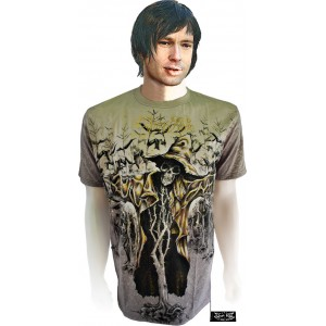 Shiroi Neko T-Shirt BUSH OF GHOSTS